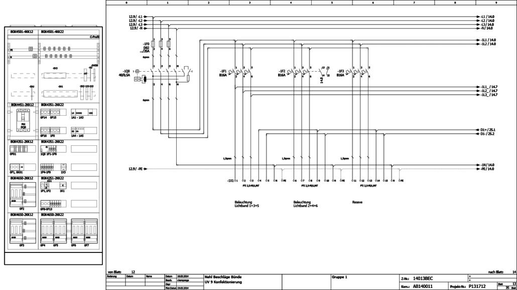 Engineering mit den CAE-System Eplan