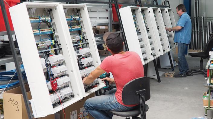 08 Verdrahtung Installationsverteiler