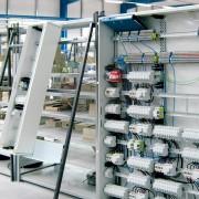 Montageplatz Installationsverteiler