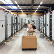 Vamocon Fertigung in der Fertigungshalle