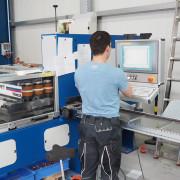 Kupferschienen-Herstellung Programmierung CNC Kupferstanze
