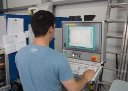 Programmierung CNC Kupferstanze Kupferschienenherstellung