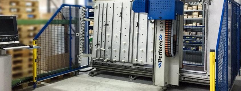 Inbetriebnahme Perforex-Bearbeitungszentrum Kesselhut Schaltanlagen