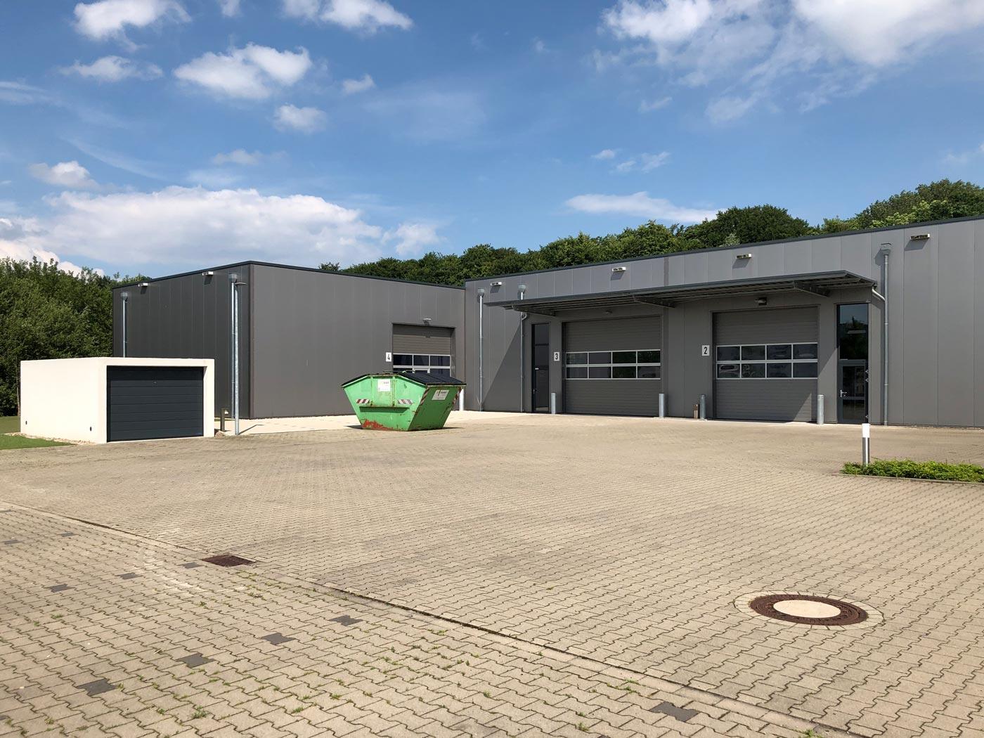 Kesselhut Anbau 2019: Aussenansicht des fertigen Gebäudes